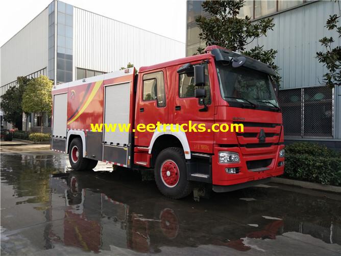 310HP HOWO Fire Rescue Trucks