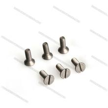 Sujeciones de titanio de cabeza avellanada de alta resistencia M3