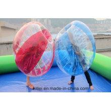 2016 burbuja inflable del fútbol de la venta caliente, bola de la burbuja para el balompié del balompié, del amigo para el adulto