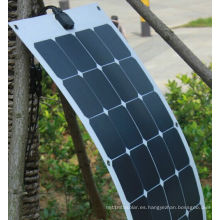 Panel solar flexible flexible de 18V 100W ETFE con células Sunpower