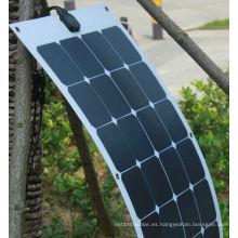 Panel solar flexible flexible de 18V 100W ETFE con células Sunpower