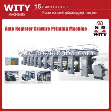Machine d'impression à gravure automatique