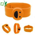 Smile Cartoon Slap Silicone Gelang nyamuk-nyamuk