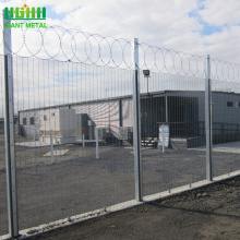 Galvanized+358+high+security+anti-climb+fence