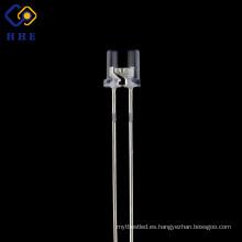 la tapa plana de alta calidad de 5 mm llevó el agua transparente IR de 850nm