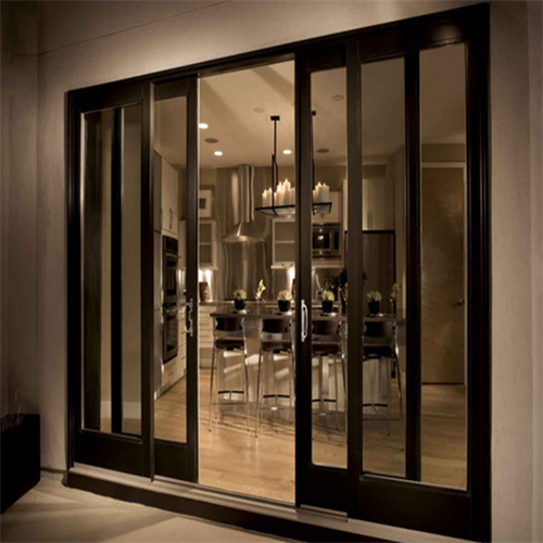 Aluminium lift and sliding door