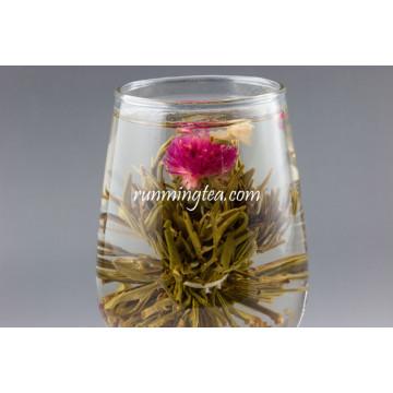 Die Lian Hua (thé vert fleurant d'Butterfly's) norme européenne