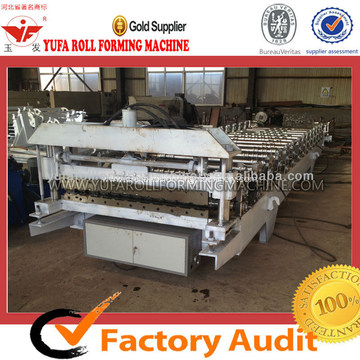 Steel Tile Forming Machine Making Glazed Roofing Profile
