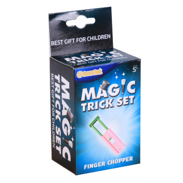 Plastic magic props magic finger chopper tricks