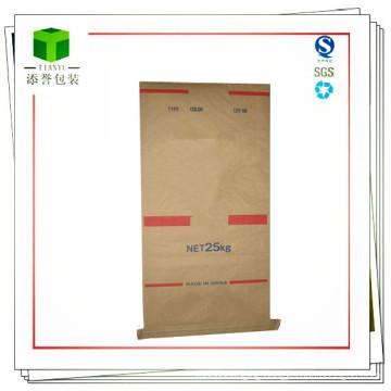 Seam Bottom Paper Plastic Composite Bag for Engineering Plastic 25kg