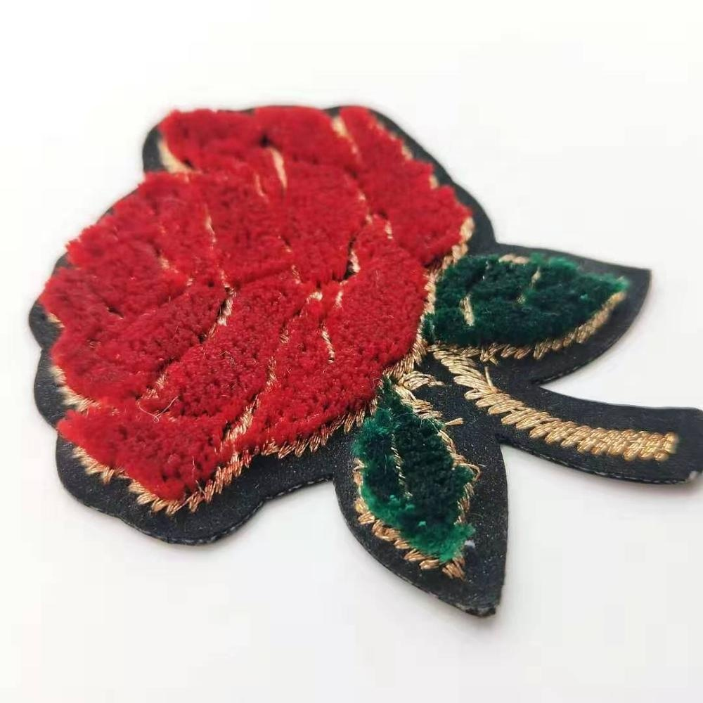 Suede Embroidery Patch