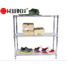 Prateleira ajustável prateleira de exposição de sapato