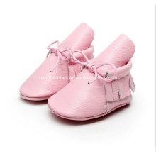 Europe Leather Fringed Baby Shoes 01