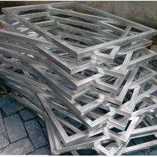Hochwertiger Siebdruck Aluminiumrahmen
