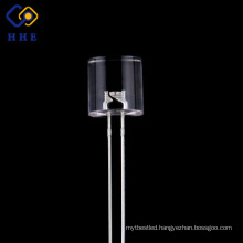 Cheap 8mm flat top yellow quality LED diode prices for energy save lamp
