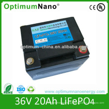 Customized LiFePO4 36V 20ah Battery for Electric Scooter