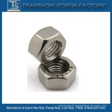 DIN934 Écrou hexagonal en acier inoxydable