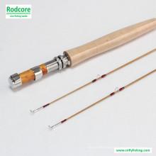 8FT 6wt Hexagon Tonkin Bambus Fliegen Rod
