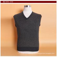 Yak laine / cachemire col v pull à manches longues chandail / vêtement / tricots