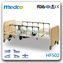 HF502 cama de cuidados de enfermagem quente