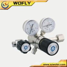 """Regulador de pressão traseira 1/4 """"inch Regulador de cilindro de gás fêmea NPT"""