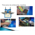 World Cup Gift Silicon Wristband Embossing Machine