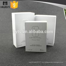 Qualitätsparfumsgeschenksatz-Pappparfüm-Beispielkasten der kundenspezifischen nach Maß