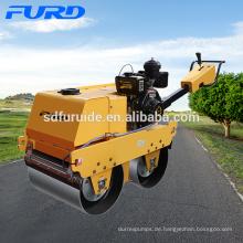 Doppeltrommel-Fußgänger-Straßenwalze mit importierter Pumpe (FYLJ-S600C)
