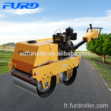 550kg Hydrostatic Walk-behind Double Drum Roller