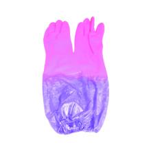 Forro de bloqueo con guantes de trabajo recubiertos de látex Funda de PU