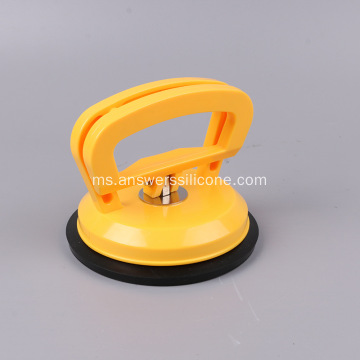 Cawan Suction Silicone Rubber Custom Clear dengan Cangkuk