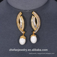 Handmade jewelry trends 2018 gold plating chemicals fashionable earrings