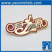 Placa de identificação de marca de esmalte personalizada