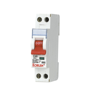 Νέος τύπος Miniature Circuit Breakers 240V MCB