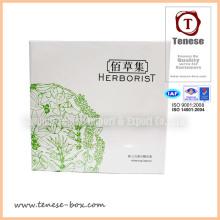 Boîte à cosmétiques design élégant avec impression UV