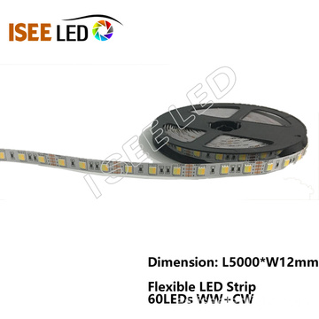 Luz de tira flexible RGBW LED