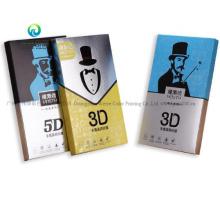 New Design Custom Mobile Phone Protect Film Paper Packaging Box