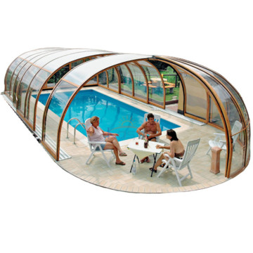Feuille de couverture de piscine à rétention de chaleur Polycarbonate