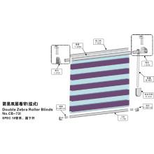 Double Stores Zebra Roller pour fenêtre (CB-73I)