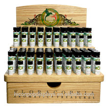 Add Your Brand Value Boost Retail Sales Cosmetic Shop Customized Counter Top Wooden Essential Oil Display Stands