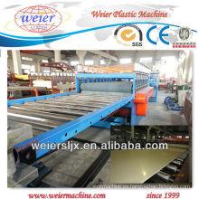 técnica de celuka SJSZ-80/156 wpc tablero de espuma de madera máquina de plástico