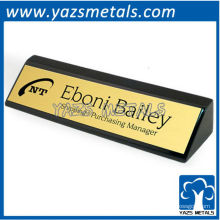 Kundenspezifische persönliche Namensschild mit Design-Logo