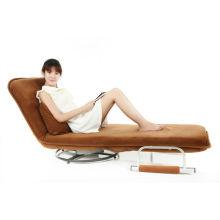 Portable folding floor chair fold down sofa bed