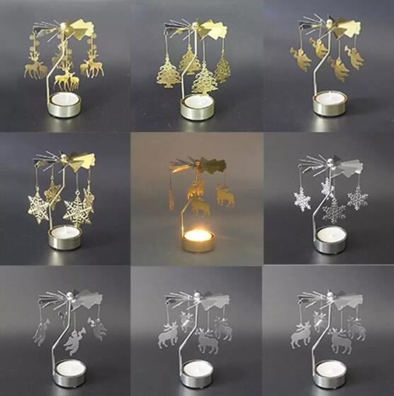 Rotary Candle light holder