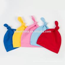 2018 novo design chapéu do bebê para recém-nascido não macio chapéu