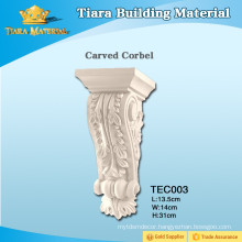 High Quality low price decorative PU corbels for interior design