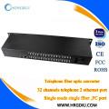 Alibaba preço de fábrica telefone conversor óptico de fibra pcm 30 canal multiplexer
