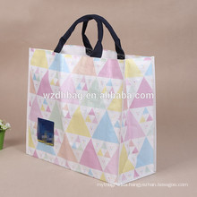 High Quality Recycle PP Woven Silk Screen Printing PP Woven Shopping Bag