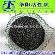 Milieux filtrants à charbon actif / usine de charbon actif granulé pour l'industrie du traitement des eaux usées et de la chimie