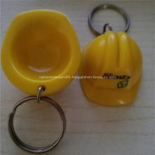Promotional Plastic Key Chain Helmet